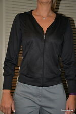 Puma Women's TP track jacket - Cover-up hoodie.  Black. Size Small - MSRP $65.00