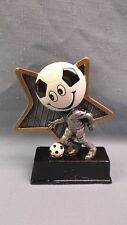 Soccer little pal full color resin award Lpr08