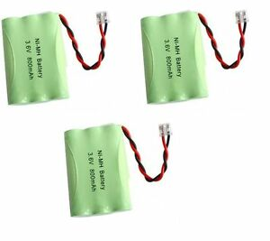 3 NiMH 3.6V Cordless Phone Battery For Uniden TRU446-2 TRU4462 TRU448 TRU448-2