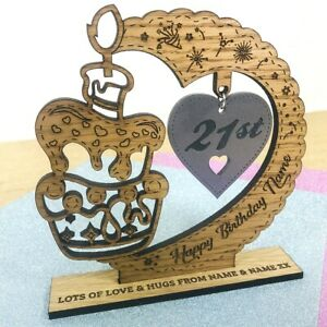 Personalised Birthday Gift for him her 18th 21st 30th 40th 50th 75th .. All Ages