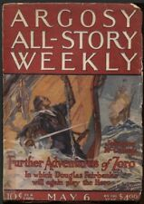 Zorro in Argosy All-Story Weekly May 6 1922. Part one of the second Zorro story.