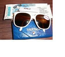 Vintage VUARNET CATeyeLogo Sunglasses 2084 084 OFFWhite 002 with Skilynx Lenses