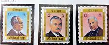 3 X Timbre Stamp Gibraltar 1980 YT 407 408 409 EUROPA CEPT Neufs
