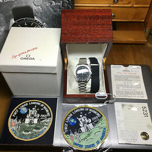 OMEGA Speedmaster Professional 1989 1450 Cal.861 20th Anniversary Apollo XI 1969
