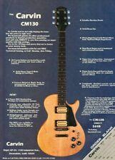 1979 Carvin CM130 Vintage Guitar Ad