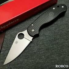 Spyderco Para 3 Lightweight CTS-BD1N Satin Plain Blade (Paramilitary 3) C223PBK