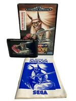 Sega Mega Drive Revenge Of Shinobi Boxed & Complete PAL UK Version