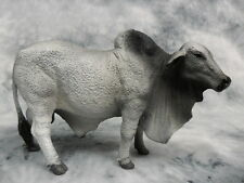 CollectA NIP * Brahman Bull - Grey * 88579 Breyer Corral Pals Brahma Cow Model