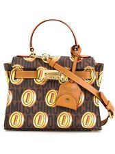 SALE MOSCHINO Jeremy Scott Super Mario Nintendo Monogrammed Coins Hermes Handbag
