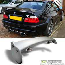 99-06 BMW E46 2Dr 4Dr ACS Rear Trunk Sport Spoiler Light Weight Wing Paintable