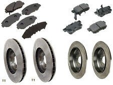 Fits Honda CR-V EX L4 2.4L Front and Rear Brembo Rotors and Akebono ProACT Pads