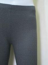 """Large 26""""-31"""" BLACK Women's Leggings in Cotton v#10"""