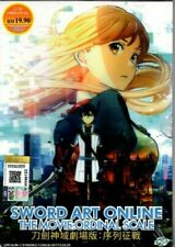 **NEW** SWORD ART ONLINE: ORDINAL SCALE *MOVIE*ANIME DVD*ENGLISH SUBS*US SELLER*