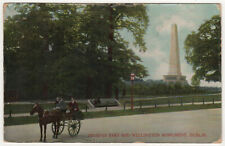 1907 DUBLIN IRELAND Phoenix Park WELLINGTON MONUMENT PC Postcard SOUTHBRIDGE