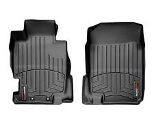 WeatherTech FloorLiner Mat for Acura TL - 2004-2008 - 1st Row - Black