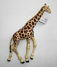 Figurine  PVC PAPO série animaux sauvages girafe 19cm type schleich bully