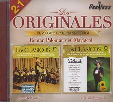 Roman Palomar y su Mariachi Los Originales 2 en 1 CD New sealed