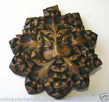 Green Man Reproduction Medieval Cathedral Carving unique Pagan greenman Giftware