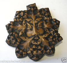 VERDE Uomo riproduzione medievale CATTEDRALE Carving Unique pagane Greenman Giftware