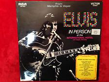 "ELVIS ""Back in Memphis"" Vinyl-2LPs 1969 Orig.RCA-LSP-6020 LIVE RARE GERMAN PRESS"