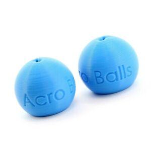 Paragliding brake handles balls-Acro Balls (NO Swivel, sky blue)