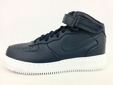 Brand New  Nike NikeLab Air Force 1 Mid Obsidian Blue Sneakers 819677-400 Size 9