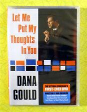 Dana Gould - Let Me Put My Thoughts In You ~ New DVD Movie ~ Comedy Video
