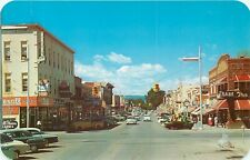 LOVELAND COLORADO FOURTH STREET BUSINESS DISTRICT VINTAGE POSTCARD VIEW