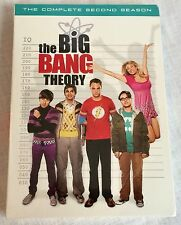 The Big Bang Theory The Complete Second Season DVD 2009 4-Disc Set New Sealed