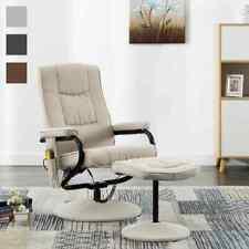 vidaXL Massagesessel Hocker Stoff Relaxsessel Fernsehsessel mehrere Auswahl