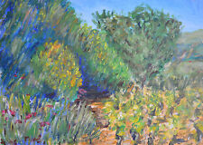 Terry George painting of Provence  southern France