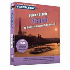 Quick and Simple Ser.: Pimsleur French Quick and Simple Course - Level 1 Lessons
