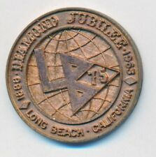 New Listing1963 Diamond Jubilee Long Beach California Token Medal Worlds Fair