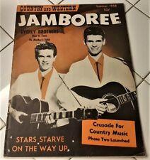 ROCKABILLY 1958 EVERLY BROTHERS GRETSCH FENDER GIBSON MAGNATONE ADS MAGAZINE