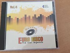 CD Euro Disco -The Lost Legends vol.4 (Lim. Edition: only 100 copies worldwide)