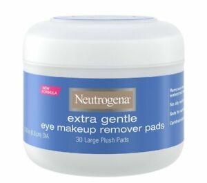 Neutrogena Extra Gentle Makeup Removing Pads, 30 Count NEW