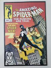THE AMAZING SPIDER-MAN #252 (2000) MARVEL TOY BIZ REPRINT 1ST BLACK COSTUME!