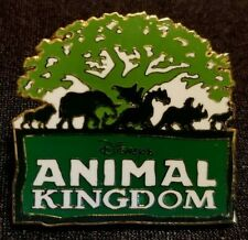 Rare 1998 Walt Disney World Animal Kingdom Grand Opening 5 Animal Logo Pin