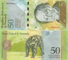 L071 BILLETE VENEZUELA 50 BOLIVARES 2009 SIN CIRCULAR.