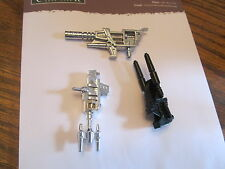 Transformers Generation 1 3 guns Grimlock Bombshell Twintwist
