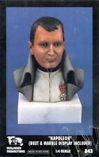 Verlinden 1:4 Emperor Napoleon Bonaparte W/ Marble Base Resin Bust Kit #843