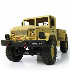 1:16 Scale RC Rock Crawler Off-Road 4WD Military Truck Remote Control Car Toy