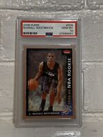 Russell Westbrook 2008 Fleer #204 Rookie RC PSA 10 GM - Free Shipping! Rare Card