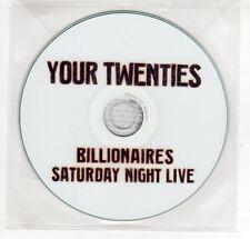 (GP363) Your Twenties, Billionaires - 2009 DJ CD