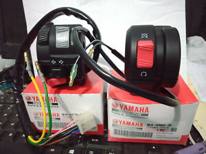 GENUINE NOS YAMAHA RXS115 RXK RX135 RX KING CONCORDE RIGHT LEFT HANDLE SWITCH