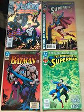 Comic Lot Venom #1, Supergirl #1, Pitt #1 Ultraverse Prime #1, Batman Superman