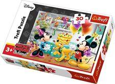 Puzzle Tort URODZINOWY Myszka Miki Minnie 30 Trefl