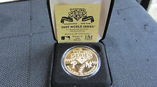 2009 World Series Phillies-Yankees- 24kt Gold Commerative Coin Mintage of 5,000