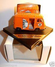 VITESSE NOREV RENAULT ESTAFETTE 1973 CENTENAIRE LION NOIR CIRAGE CREME  1/43 BOX