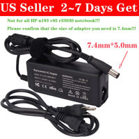 65W AC Adapter Charger For HP N193 V85 R33030 Notebook PC Power Supply Cord PSU